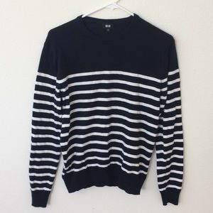 Uniqlo NWOT Striped Nautical Sweater